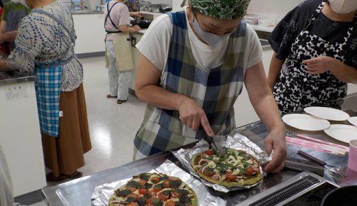虫よけスプレーと簡単薬膳ピザ作りをしました