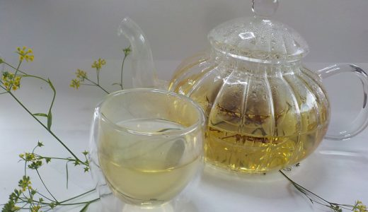 サイコちゃんのお茶できました